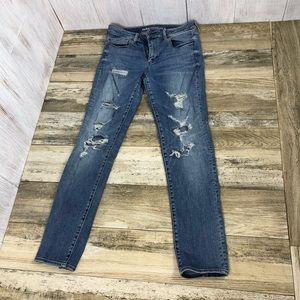 American Eagle Skinny Jeans Size 12 Long AEO